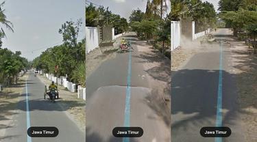 6 Potret Kocak Orang saat Terekam Google Maps Ini Posenya Bikin Ketawa