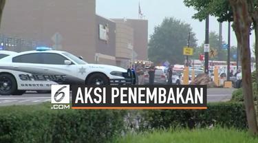Penembakan brutal terjadi di pusat perbelanjaan Walmart Mississippi Amerika Serikat. Tembakan pelaku menewaskan 2 warga.
