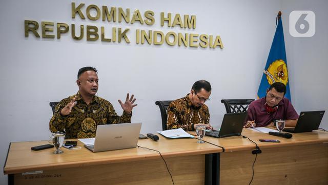 FOTO: Komnas HAM Uraikan Rancangan Perpres TNI Tangani Terorisme
