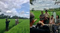 Momen Pemotretan Keluarga Anjasmara dan Dian Nitami. (Sumber: Instagram.com/amronpaulyuwono)