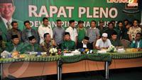PPP kubu Suryadharma Ali mengadakan rapat pleno di kantor DPP PPP, Jakarta, Selasa (22/4/14). (Liputan6.com/Johan Tallo)