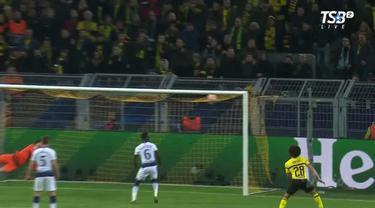 Berita video highlights 16 besar Liga Champions 2018-2019 leg-2. Kembali kalahkan Borussia Dortmund, Tottenham Hotspur lolos dengan agregat 4-0.