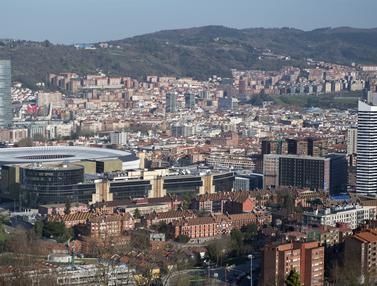 "Foto Piala Eropa: ""Estadio San Mames"", Stadion yang Mewakili Negeri Matador dalam Perhelatan Akbar Euro 2020 (Euro 2021)"
