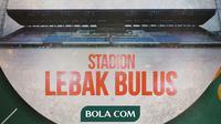 Cerita Bola - Stadion Lebak Bulus (Bola.com/Adreanus Titus)