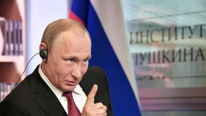 Presiden Rusia Vladimir Putin (AP/Alexei Nikolsky)