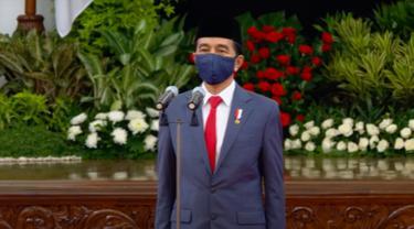 Presiden Jokowi resmi lantik Ahmad Riza Patria jadi Wakil Gubernur DKI Jakarta. (Istimewa)