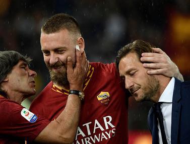 FOTO: Momen Perpisahan Daniele De Rossi dengan AS Roma