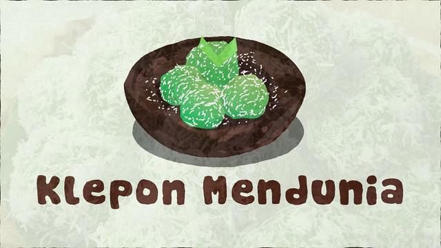 Tidak hanya di bumi Nusantara, klepon sesungguhnya telah mendunia.