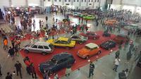 Kustomfest 2019 berlangsung 5-6 Oktober 2019 di Jogja Expo Center (JEC), Yogyakarta. (Septian / Liputan6.com)