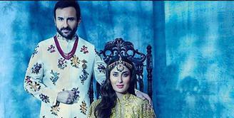 Kareena Kapoor dan Saif Ali Khan resmi menjadi orang tua. Dikaruniai seorang bayi laki-laki, pasangan ini memberinya nama Taimur Ali Khan Pataudi. Tak sembarangan, nama itu ternyata punya makna tersendiri. (Instagram/Kareenabebo)