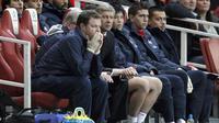 Thierry Henry dan Arsene Wenger (IAN KINGTON /AFP)