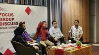 Diskusi OJK bersama Media di Bogor. Dok OJK