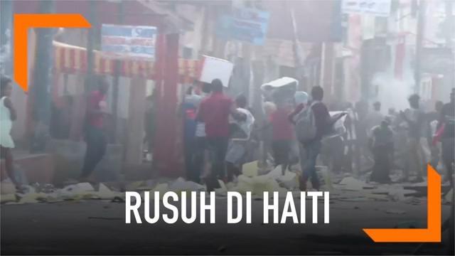 Situasi keamanan di Haiti semakin tak menentu, protes mendesak presiden turun berujung kekerasan dan kerusuhan.