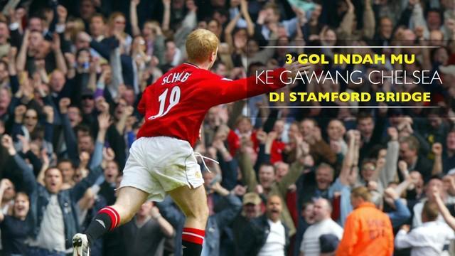 Video gol indah Manchester United ke gawang Chelsea saat setan merah bertandang ke Stamford Bridge