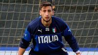 Kiper AC Milan asal Italia, Gianluigi Donnarumma. (dok. Gazzettaworld)