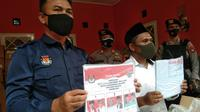 Jutaan Surat Suara Pilkada Tangsel Tiba di Gudang KPU Setempat (Foto:Liputan6/Pramita Tristiawati)