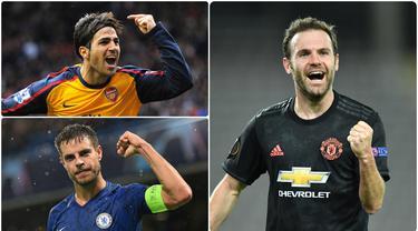 Beberapa pemain asal Spanyol yang berkarier di Premier League mampu menjadi andalan klub sehingga terus dimainkan disetiap pertandingan. Berikut pemain asal Spanyol yang memiliki jumlah pertandingan terbanyak di kompetisi Premier League. (kolase foto AFP)