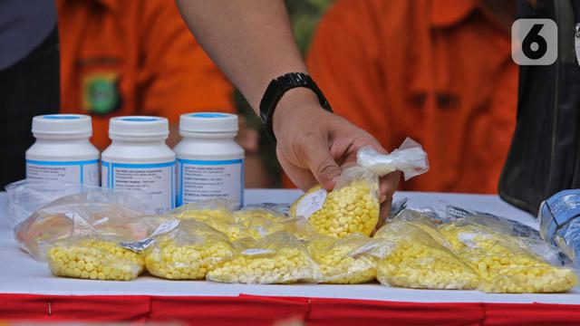 Musnahkan Narkoba Hasil Pengungkapan di Jakarta