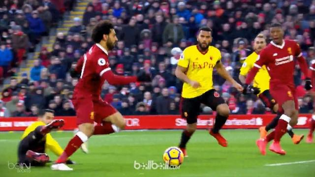 Mohamed Salah dan Roberto Firmino menghuni gol terbaik pekan ke-31 Premier League. This video is presented by Ballball.