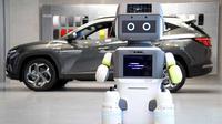Hyundai kerahkan robot untuk menemani kustomer di diler (Carbuzz)