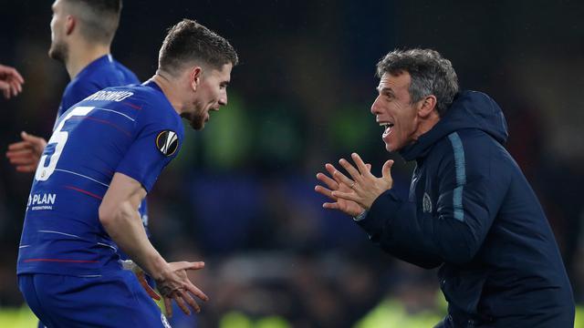 Euforia Pemain Chelsea Lolos ke Final Liga Europa