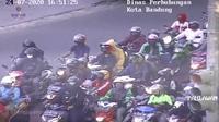 Tangkapan layar video parodi ATCS Dishub Kota Bandung. (Liputan6.com/Huyogo Simbolon)