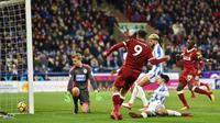 Roberto Firmino membobol gawang Swansea City. (doc. Liverpool)