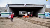 Konstruksi Underpass Bandara Kulon Progo (dok: PUPR)