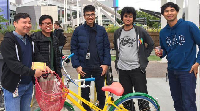 IndoGooglers yang bekerja di Google Mountain View, Amerika Serikat. Liputan6.com/Jeko Iqbal Reza
