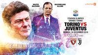 Torino vs Juventus (Liputan6.com/Abdillah)