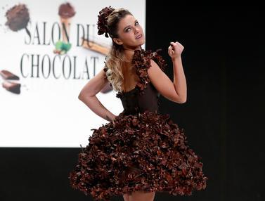 Gaun dari Cokelat