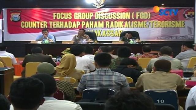 sebagai pintu gerbang wilayah Indonesia Timur, Kota Makassar punya potensi ancaman masuknya paham radikal.