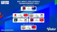 Link Live Streaming Asian Men's Volleyball Championship 2021 Pekan Ini, 16-18 September 2021. (Sumber : dok. vidio.com)