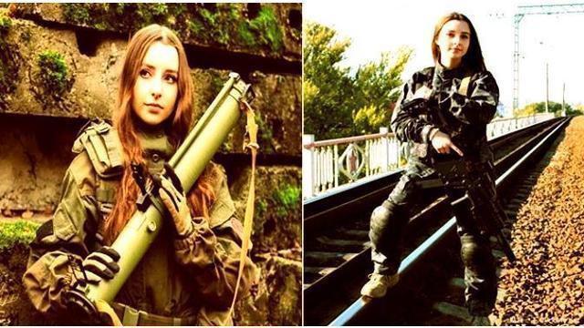 Ellena bahkan membuka sebuah toko yang menyediakan benda-benda berbau militer.