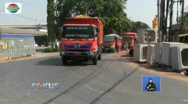Dapat ancaman pemberhentian paksa oleh Pemkot Bekasi, truk sampah DKI Jakarta harus beralih rute ke Cibubur dan Cileungsi.