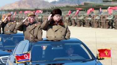 20160325- Korea Utara Pamer Kekuatan Militer-Reuters