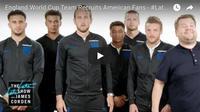 Enam bintang Timnas Inggris tampil bersama James Corden berakting kocak. (Bola.com/Istimewa)