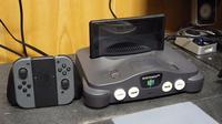 Konsol Nintendo 64 dimodifikasi jadi dock Switch. (Doc: Tettzan Zone)