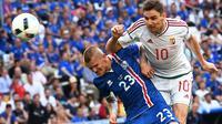 Islandia vs Hungaria (AFP/ANNE-CHRISTINE POUJOULAT)