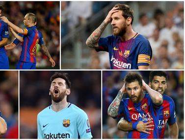 Ekspresi saat Lionel Messi Kecewa