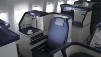 Kursi kelas bisnis di pesawat Boeing 787-8 dan Boeing 787-9 milik maskapai  All Nippon Airways (ANA) (Foto: Dok. ANA)