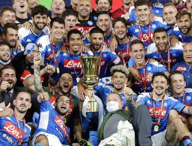 Napoli Jadi Juara Coppa Italia 2020