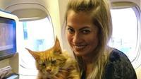 Australia Pertimbangkan Izinkan Hewan Peliharaan Masuk Kabin Pesawat. (dok.Instagram @tatianeporchat/https://www.instagram.com/p/BtRoKr8HmJG/Henry)
