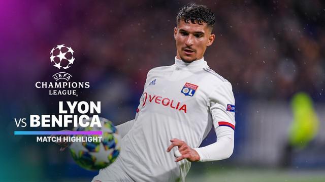 Berita Video Highlights Liga Champions, Lyon Vs Benfica 3-1