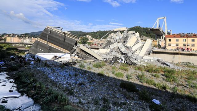 Korban Tewas Akibat Jembatan Layang Ambruk di Italia Bertambah Hingga 43 Orang