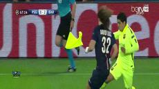 Paris Saint-Germain vs Barcelona Leg Pertama Liga Champion. Skor akhir 1 - 3 bagi tim tandang.