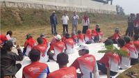 TIm Kemenko PMK melakukan kunjungan kerja ke Kecamatan Baleendah dan Kecamatan Bojongsoang Kabupaten Bandung yang merupakan wilayah kerja sektor 6 satuan tugas Citarum Harum.