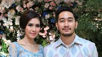 Tunangan Syahnaz Sadiqah dan Jeje Govinda (Adrian Putra/bintang.com)