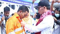 Menaker Hanif Dhakiri berharap pelatihan skill pekerja tak hanya dilakukan di Balai Latihan Kerja milik pemerintah tapi juga swasta.