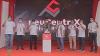 Peresmian data center neuCentrIX  (Neutral Cloud & Internet Exchange) yang kedua di Kalimantan atau yang ke delapan belas di Indonesia,  berlokasi di Ulin, Banjarmasin, Provinsi Kalimantan Selatan, Kamis (8/4).